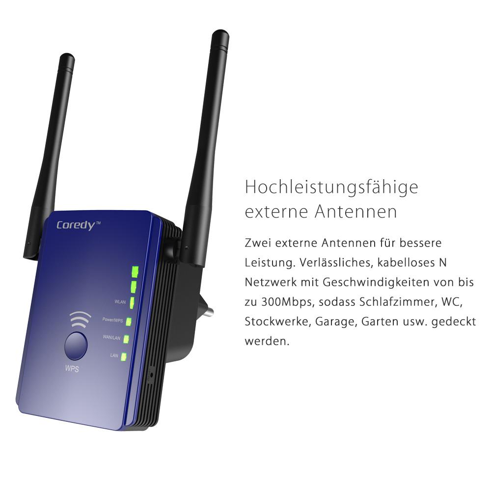 Coredy E17 Mini WLAN Repeater Signal Verstärker_WiFi