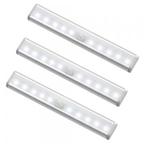 MagicBuds 10 LED Motion Sensor Lights (3 Pack, Battery Operated)