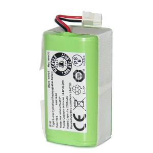 Coredy Replacement 2600mAh Li-ion Battery for R500 R300 Robot Vacuum Cleaner (1pc)